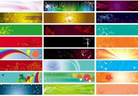 Practical banner background vector