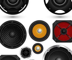 Speakers free vector