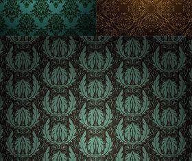 Vintage Style Patterns 36 vector design