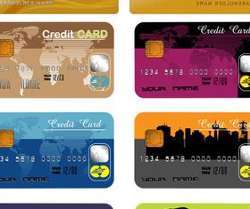 Banking Credit Cards vector