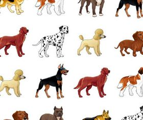 Dogs free vectors