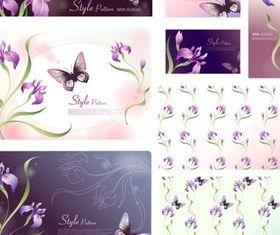 Dream flowers 10 design vectors
