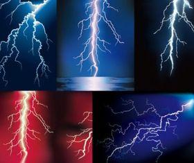 Lightning vector graphics