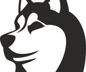 Husky free cdrs art vector
