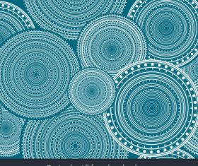 Abstract background illusive circles decor vectors