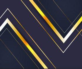 Decorative background shiny modern flat sharp angles vector