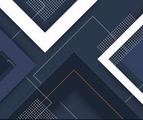 Abstract technology background modern flat dark geometric decor vectors
