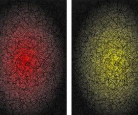 Texture bitmap background illustration pattern lightning effect vector set