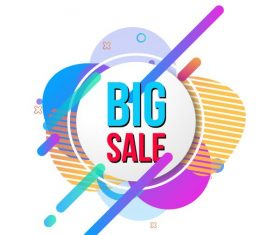 Special sale set vector