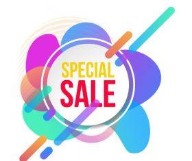 Special sale vector