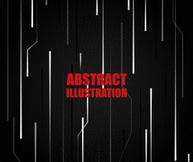 Technology background dark vertical dynamic lines vector