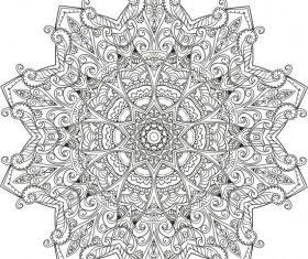 Myst mandala cdrs art vector