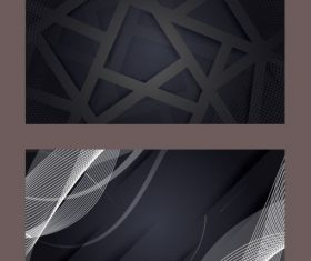 Technology background modern abstract dark vector