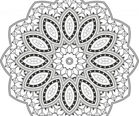 Mandala free cdrs art design vector