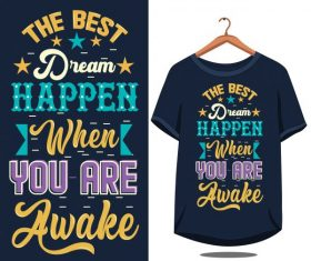 Vintage quote motivational design vector