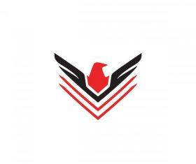 Eagle logo vector design