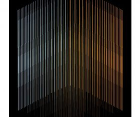 Technology vertical lines dark background vector