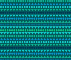 Decorative pattern template flat repeating geometric horizontal vector
