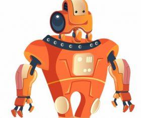 Robot modern humanoid design vector
