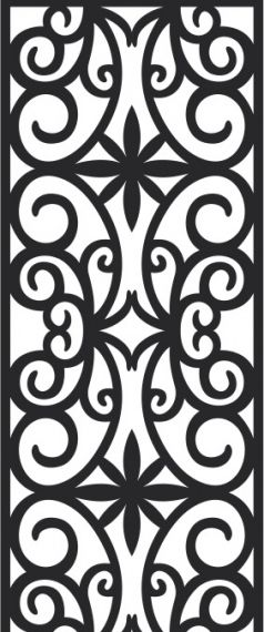 Classic pattern free cdrs art vector