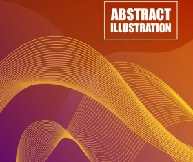 Abstract background template modern 3d motion lines design vectors