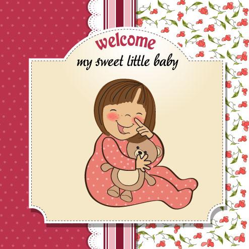 102+ Gambar Kartun Bayi Perempuan Lucu Gratis Terbaik