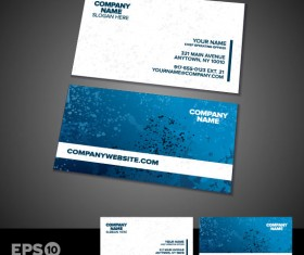 Business card templates vector 01