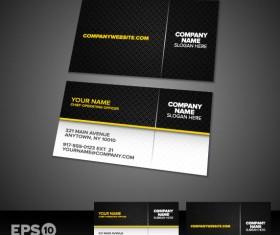 Business card templates vector 02