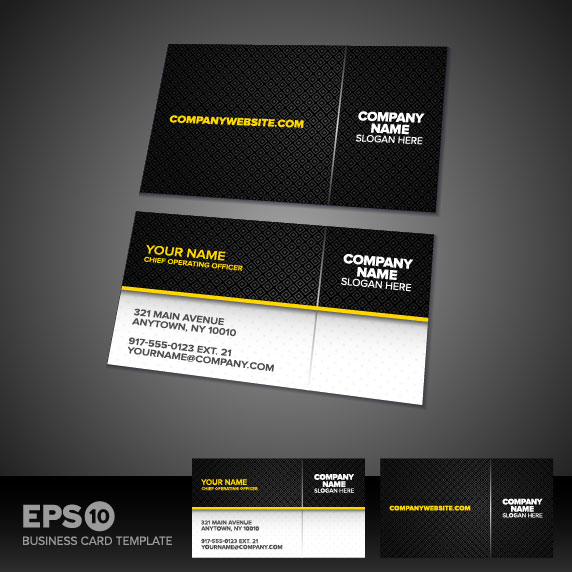 business card templates vector 02 vector other free download
