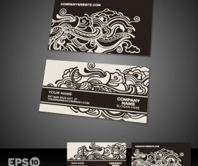 Business card templates vector 03