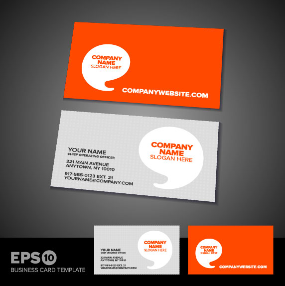Business Card Templates Vector 05