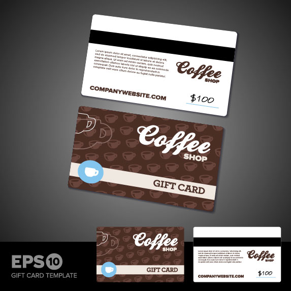 Business Card Templates Vector Vector Other Free Download - Coffee business card template free