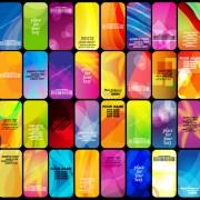 Link toBrilliant halation card background vector 02