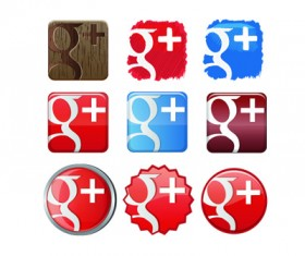 Free Google+1 Plus Icon Set