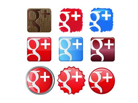 Free Google+1 Plus Icon Set free download