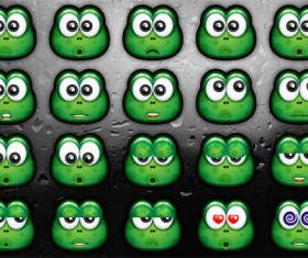 Green Monster Icons