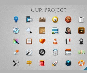Gur project Icons