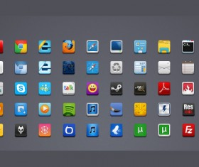50 new icons for SuperBar