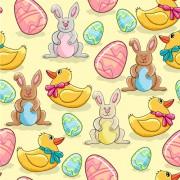 Link toCartoon color eggs illustration vector 02