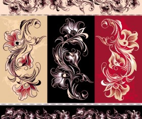 Exquisite Floral vector 01