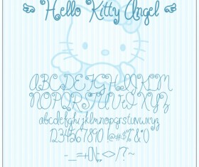 Hello_Kitty font
