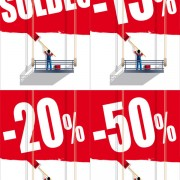 Link toOutdoor promotional ads vector
