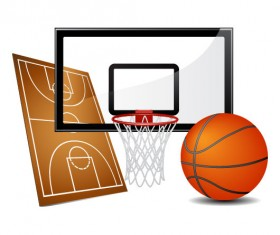 sports equipment vector set 02