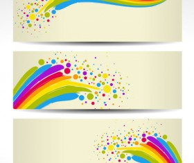 Color notes background 03 vector