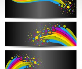 Color notes background 04 vector