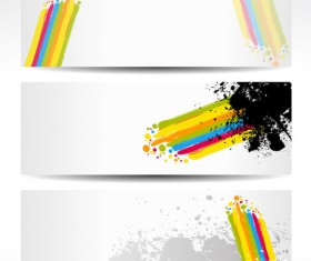 Color notes background 05 vector