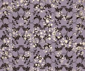 Floral background vector Set 02