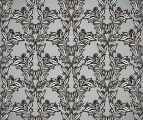 Floral background vector Set 03
