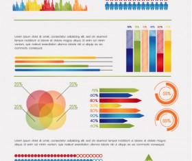 Business Data graph vetcor 02