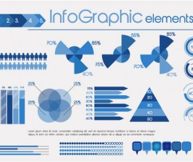 Business Data graph vetcor 04